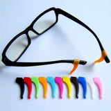 1 pair glasses frame non-slip hypoallergenic silicone foot cover
