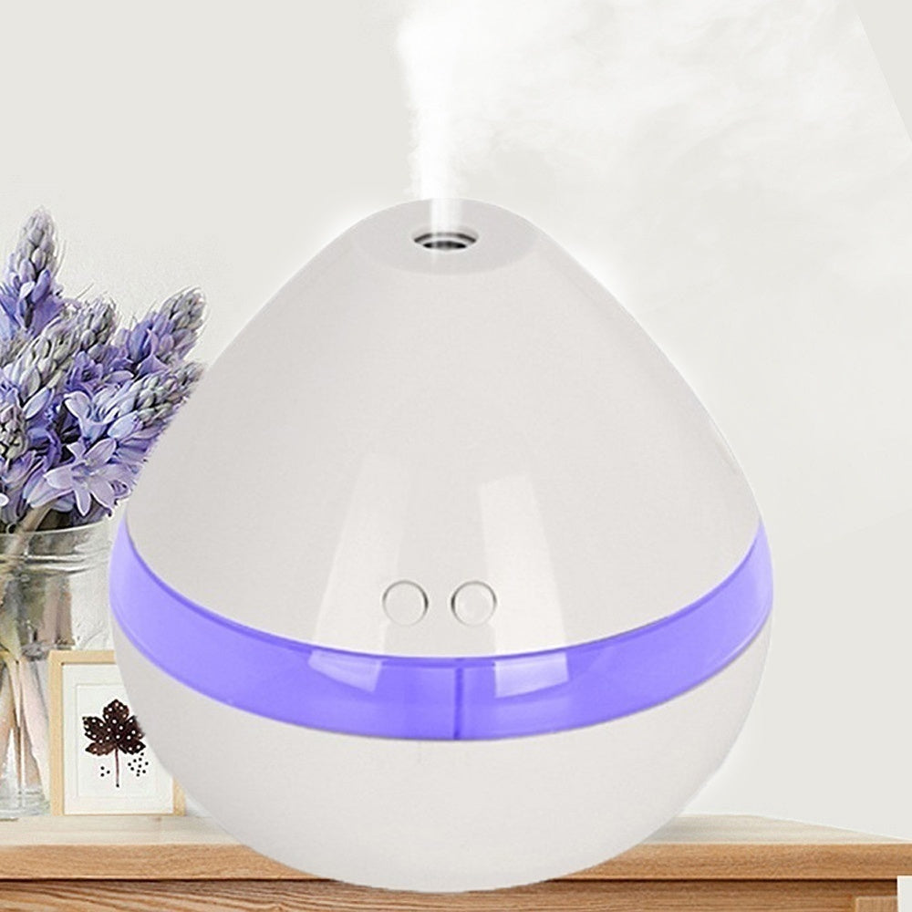 USB Electric Aroma Air Diffuser  Ultrasonic Air Humidifier Essential Oil Aromatherapy Cool Mist humidifier(Capacity 100/300ml)