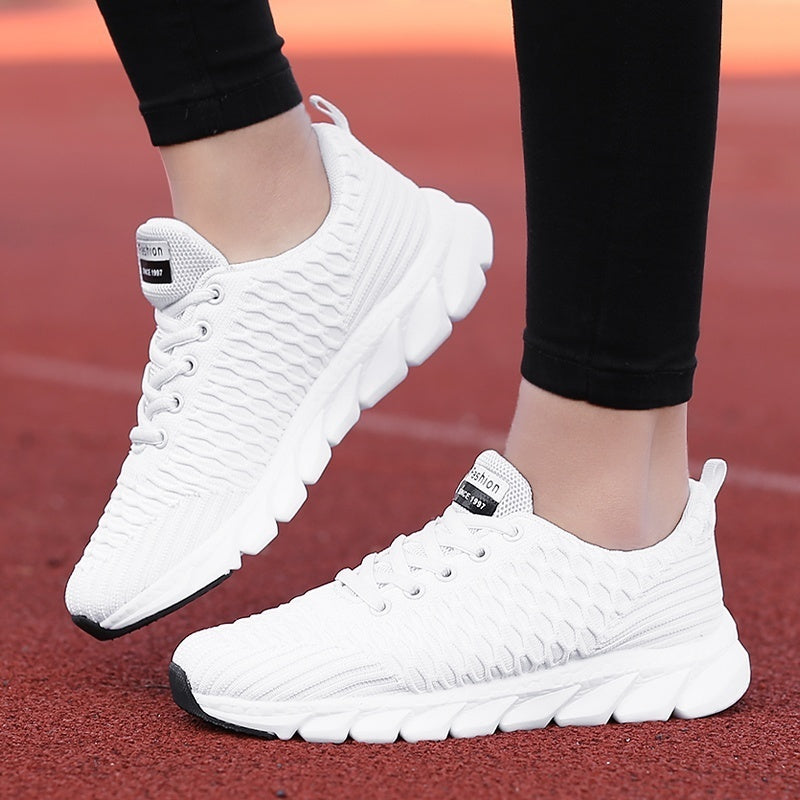 Womens Fashion Outdoor Breathable Running Sports Shoes Tennis Sneakers Casual Shoes Walking Shoes