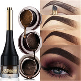 1PC Eyebrow Gel Eyebrow Kit Brow Gel Waterproof Dyed Brow Professional Makeup Cosmetics for Eyebrow Enhancers Cream