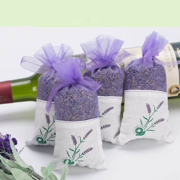 Real Lavender Organic Dried Flowers Sachets Buds Blooms Bag Scent Fragrance