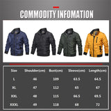 Can Am Motorcycle Military Bomber Jacket Men Slim Fit Winter Casual Mens Jacket Solid Outwear Zipper Coat Man Tracksuit Windproof