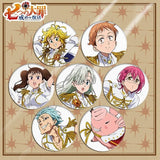 Anime The Seven Deadly Sins Brooch Badge Bag Pendant Accessory For Gift