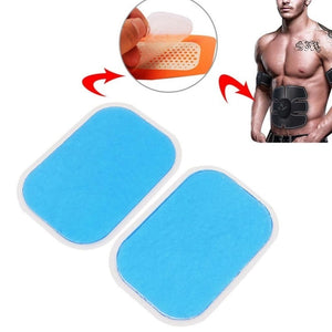 Abs Trainer Replacement Gel Sheet Abdominal Muscle Hydrogel Pad Exercise Machine Patch For ABS Trainer 10~100 pcs