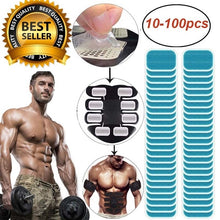 Load image into Gallery viewer, Abs Trainer Replacement Gel Sheet Abdominal Muscle Hydrogel Pad Exercise Machine Patch For ABS Trainer 10~100 pcs
