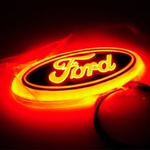 Load image into Gallery viewer, 4D LED Car Front and Rear Logo Light Badge Lamp Emblem Sticker for Ford