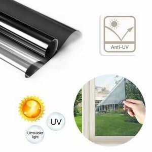 70x100cm Building Insulation Film Window Sunshade Sunscreen Anti-UV One-way Window Film