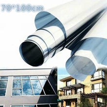 Load image into Gallery viewer, 70x100cm Building Insulation Film Window Sunshade Sunscreen Anti-UV One-way Window Film