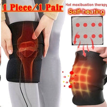 Load image into Gallery viewer, Tourmaline Self-heating Kneepad Therapy Magnetic Therapy Knee Heating Pad  1pcs/1pair