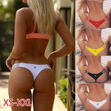 New Fashion Women Bikini Bottoms Summer Swim Brief Thongs Women Swimwear Swimming Trunks