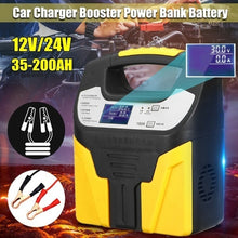 Load image into Gallery viewer, 360W 12V/24V Car Battery Charger Pulse Eightfold safety protection Repair Jump Starter Booster Power Bank