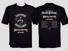 Load image into Gallery viewer, five finger death punch megadeth bad wolves tour 2020 t shirt  S-5XL)