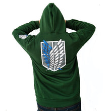Load image into Gallery viewer, New Fashion Sweatshirt Attack on Titan Hoodie Wings of Freedom
