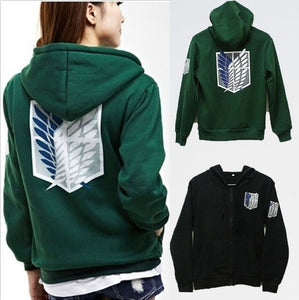 New Fashion Sweatshirt Attack on Titan Hoodie Wings of Freedom