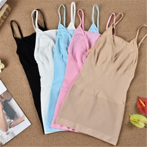 XS-XXXL Fashion Woman Body Sculpting Sleeveless Exercise Slimming Sweat Vest Slim Fit Tops Tank Camisole Fat Burning Silm Vest Shapewear