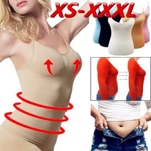 Load image into Gallery viewer, XS-XXXL Fashion Woman Body Sculpting Sleeveless Exercise Slimming Sweat Vest Slim Fit Tops Tank Camisole Fat Burning Silm Vest Shapewear