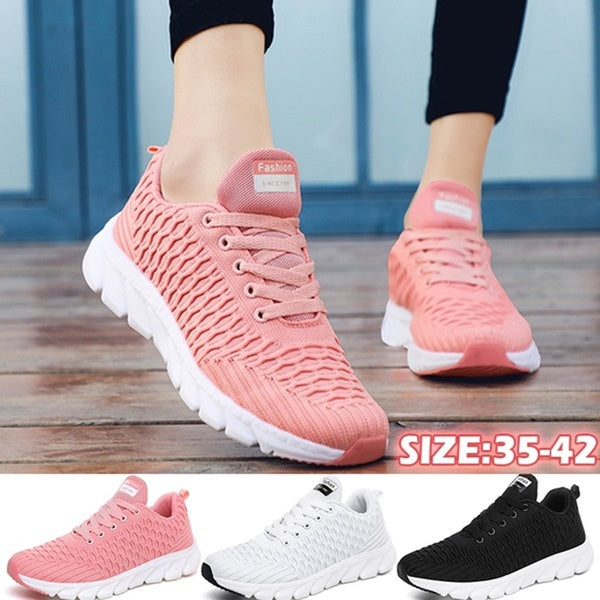 NEW Women Lightweight Running Shoes Fashion Casual Tennis Shoes Ladies Breathable Walking Fitness Shoes Chaussure Femme