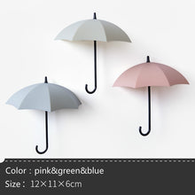 Load image into Gallery viewer, 3 Pcs/Set Wall Sticker Wall Deco Clothes Coat Hat Hanger Strong Adhesive Hooks for Bathroom Creative Northern Europe Rustproof Hooks for Kitchen