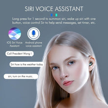 Load image into Gallery viewer, 2020 New 9D HiFi Bluetooth 5.0 CVC8.0 Noise Reduction Stereo Wireless TWS Bluetooth Headset LED Display Headset Waterproof Dual Headphones with Power Bank Chagring case (Monaural Version 100/1500mAh or Led Binaural Version 4000mAh)