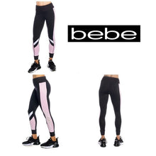 Load image into Gallery viewer, Bebe Blocked Logo Legging Jogger