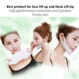 1PC 4D Anti Wrinkle V Shape Face Firming Gel Sheet Mask Lifting Firming Face Mask Slimming for Face Shaper