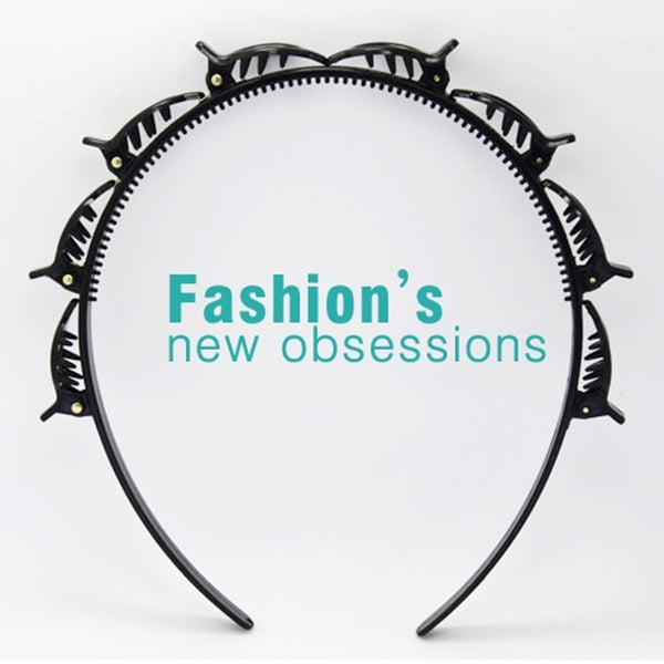 2020 New Double Bangs Hairstyle Hairpin Professional Hairpin Double Layer Bangs Clip 1/2/3/4/6/10 PCS