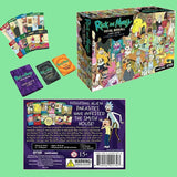 Rick and Morty Decompression Game Total Rickall Best Card Game Entertainment Game