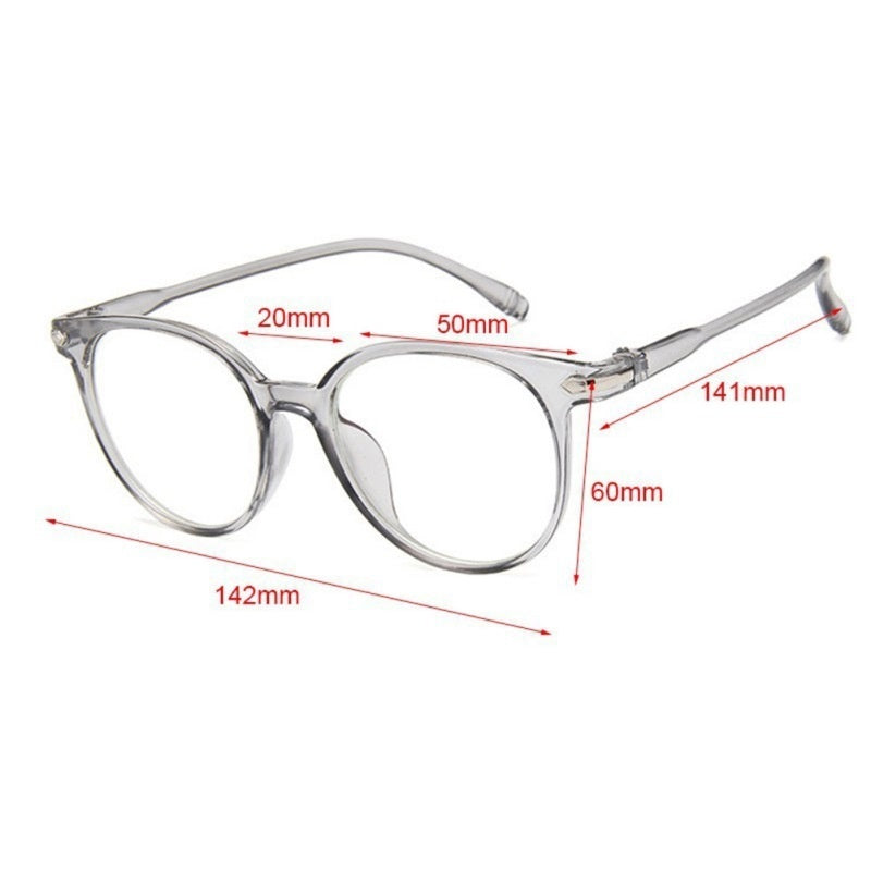 Spectacle Optical Frame Glasses Clear Lens Vintage Computer Anti-Radiation Eyeglasses 1pcs