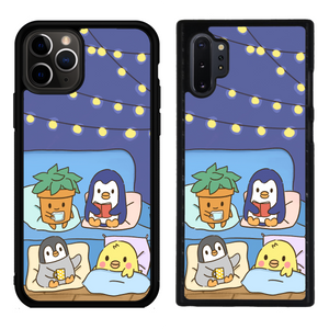 Comfy and Cozy Blue Phone Case