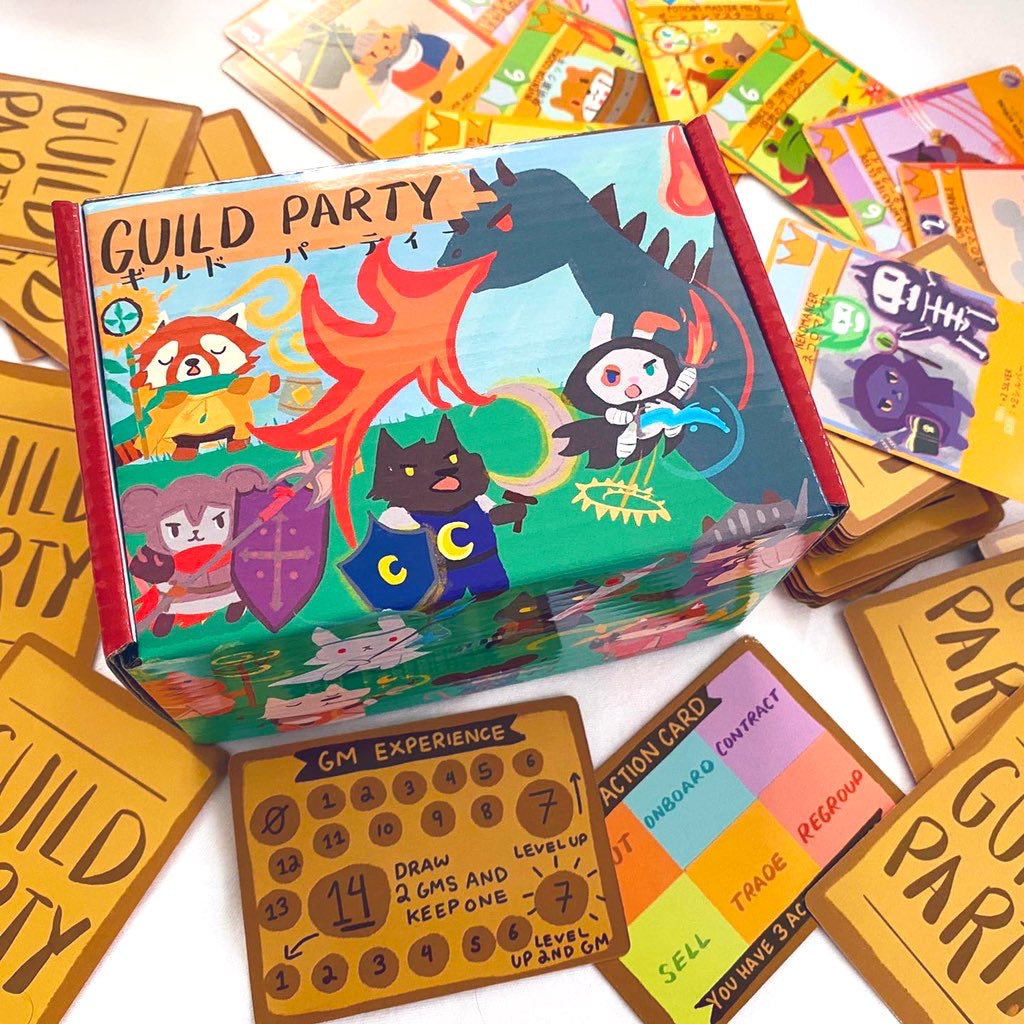 Guild Party The Board Game Game Market Tokyo Edition