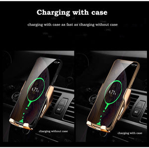 Automatic  Wireless Phone-Charger Holder Car Accessories Shop - E' Panta Market