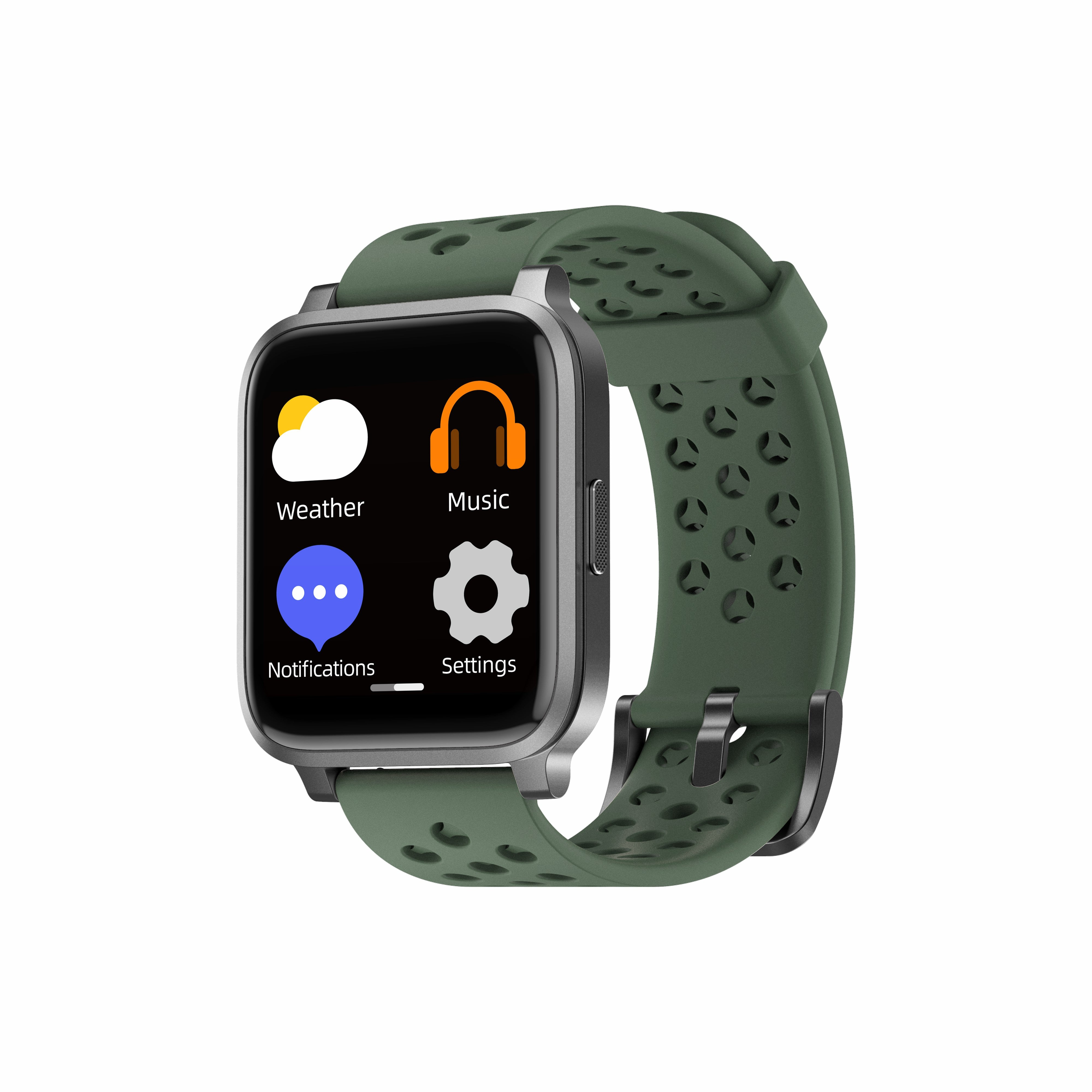 Smart Fitness Watch with Big Touch Screen