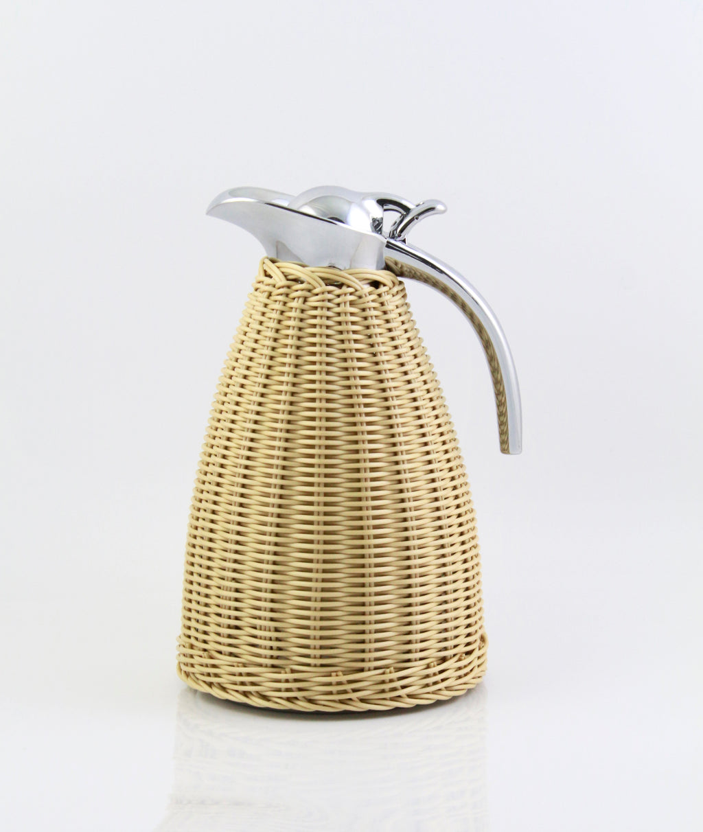 Handmade Rattan Wrapping Coffee Thermos Pot - E' Panta Market