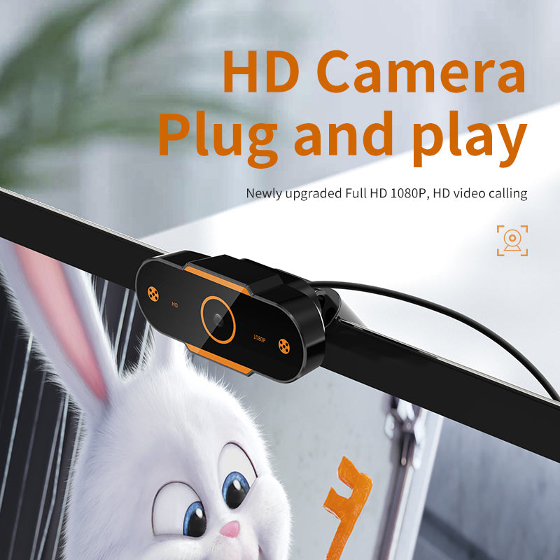 Auto Focus Webcam Camera with Microphone - E' Panta Market