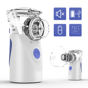 Home Care Portable Ultrasonic Inhaler Mesh Nebulizer - E' Panta Market