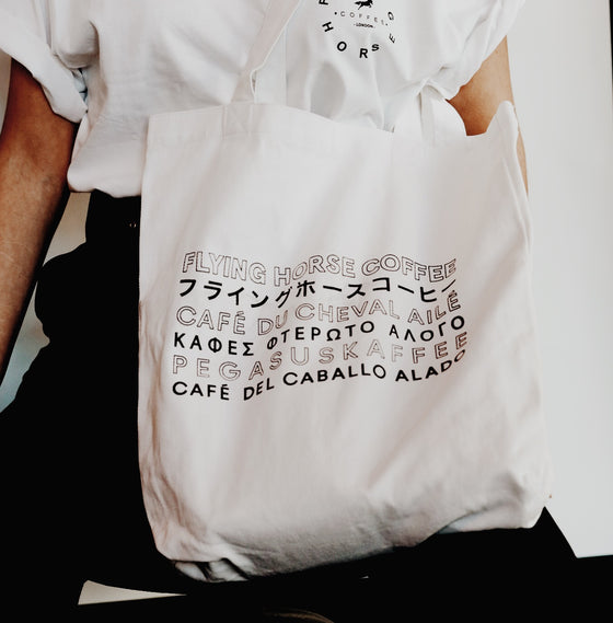 Tote Bag - Language logo