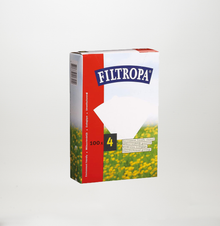 Filtropa size 4 Paper Filters (Box of 100)