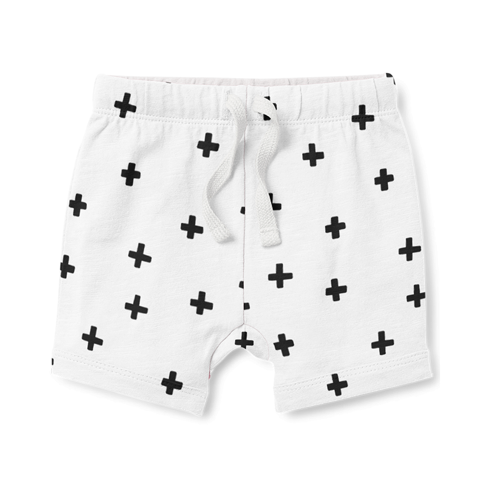 Shorts - Cross Black