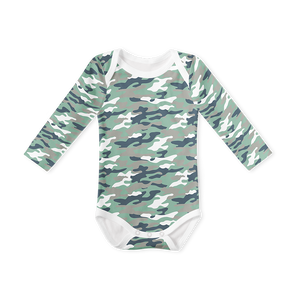 Long Sleeve Onesie - Camo