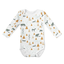 Load image into Gallery viewer, Long Sleeve Onesie/Beanie Set - Birch bear