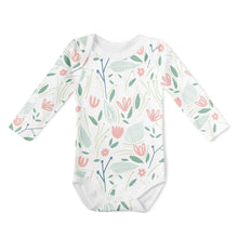 Load image into Gallery viewer, 2-Piece Long Sleeve Onesie Set - Vintage Bunny/Bloom