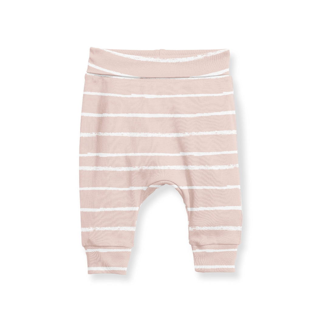 Jogger Pants - Stripe Blush