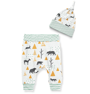 SALE - Jogger & Beanie - Birch Bear