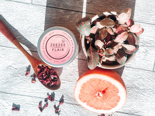 Silky smooth skin. Rose and Grapefruit Body Scrub. Natural body scrub. Guilt-Free, cruelty free and 100% recyclable. Vegan skincare. Treatment for dry skin. Himalayan salt body scrub. All-natural ingredients. Natural exfoliant. Made in London. Gifts for her. Christmas gifts. Organic ingredients