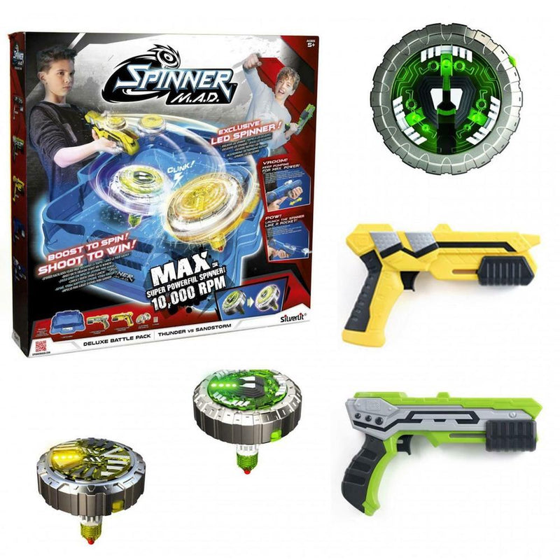 Silverlit Spinner M.A.D. Deluxe Pack