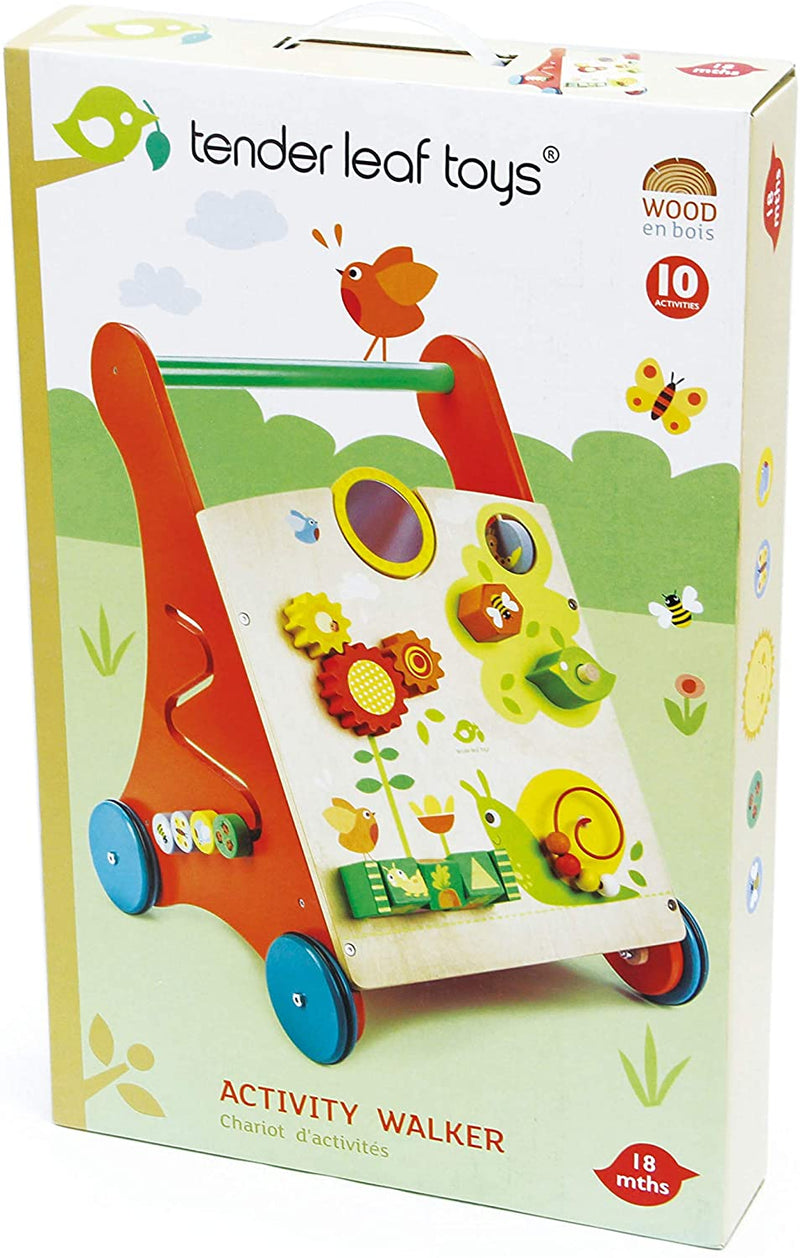 Tender Leaf Toys Carretto Activity Walker