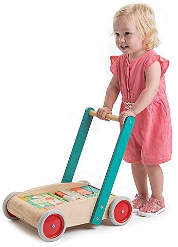 Tender Leaf Toys Carretto Baby Block Walker