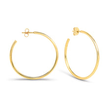 Load image into Gallery viewer, Medium Hoop Earrings