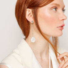 Load image into Gallery viewer, Maxi Keshi Pearl Earring with Zircon