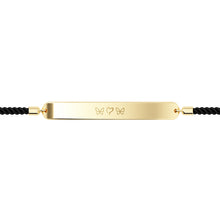 Load image into Gallery viewer, Initials Bar Cord Bracelet